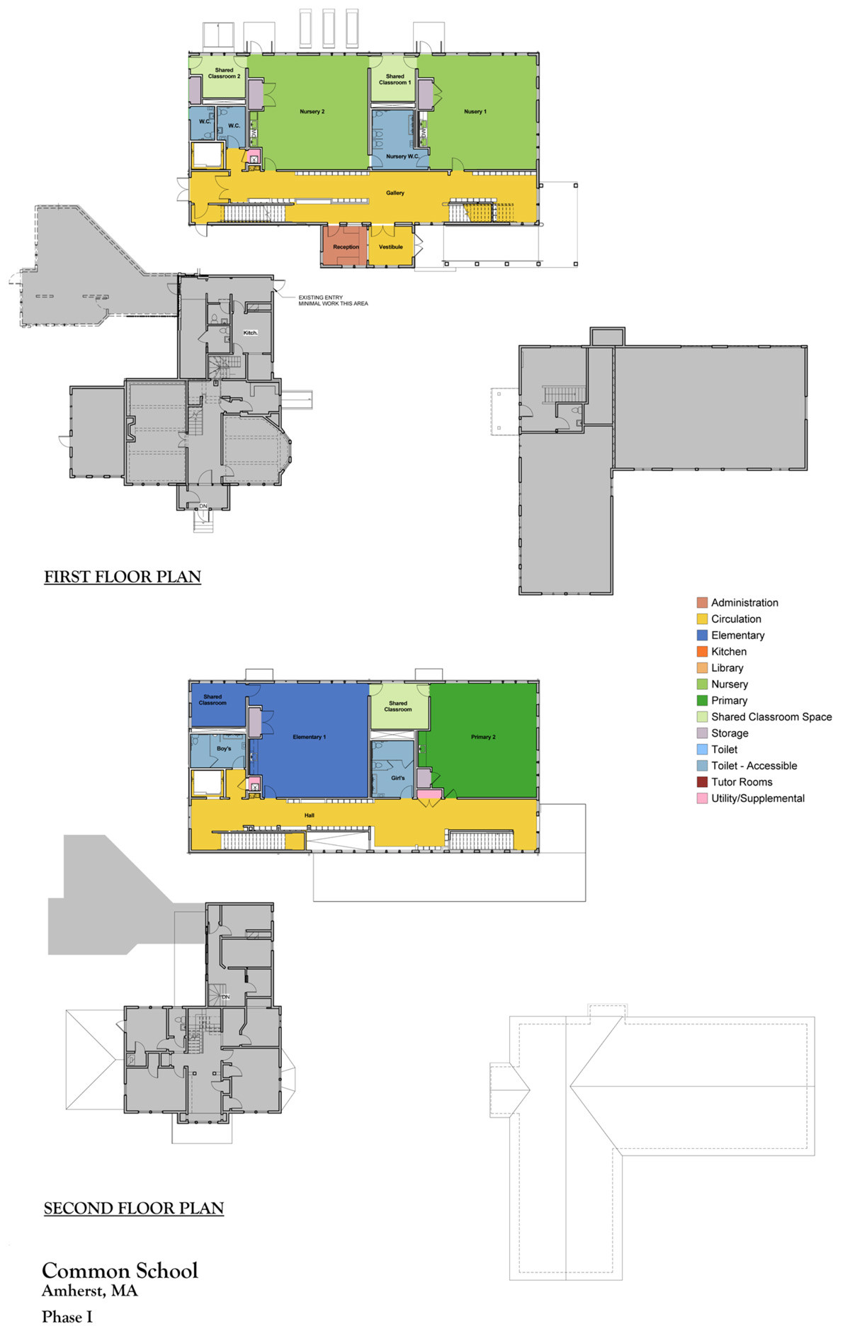 Floor Plans Common School
