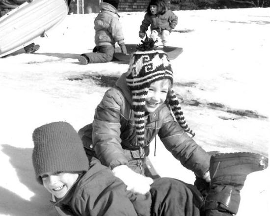 8-sledding